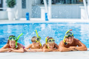Family Swim Time